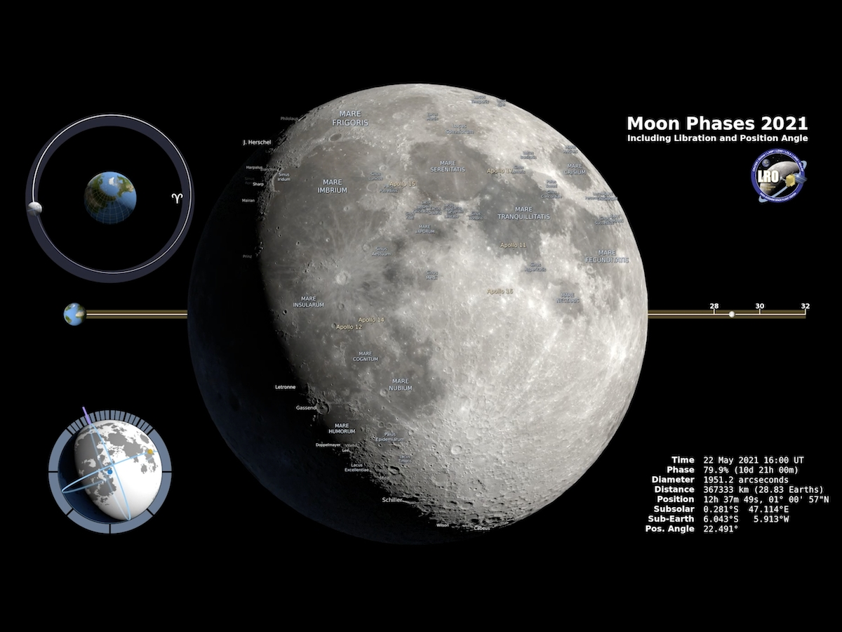 Catch November 2021 With Moons