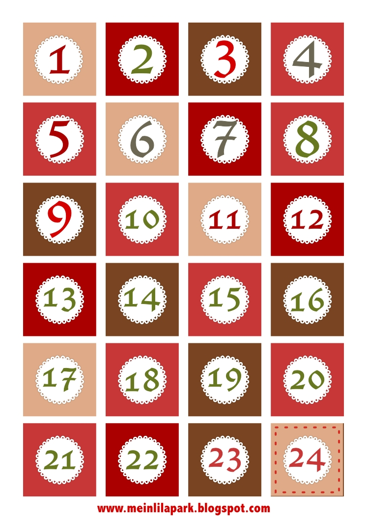 Catch Numbers 1 31 For Calendar