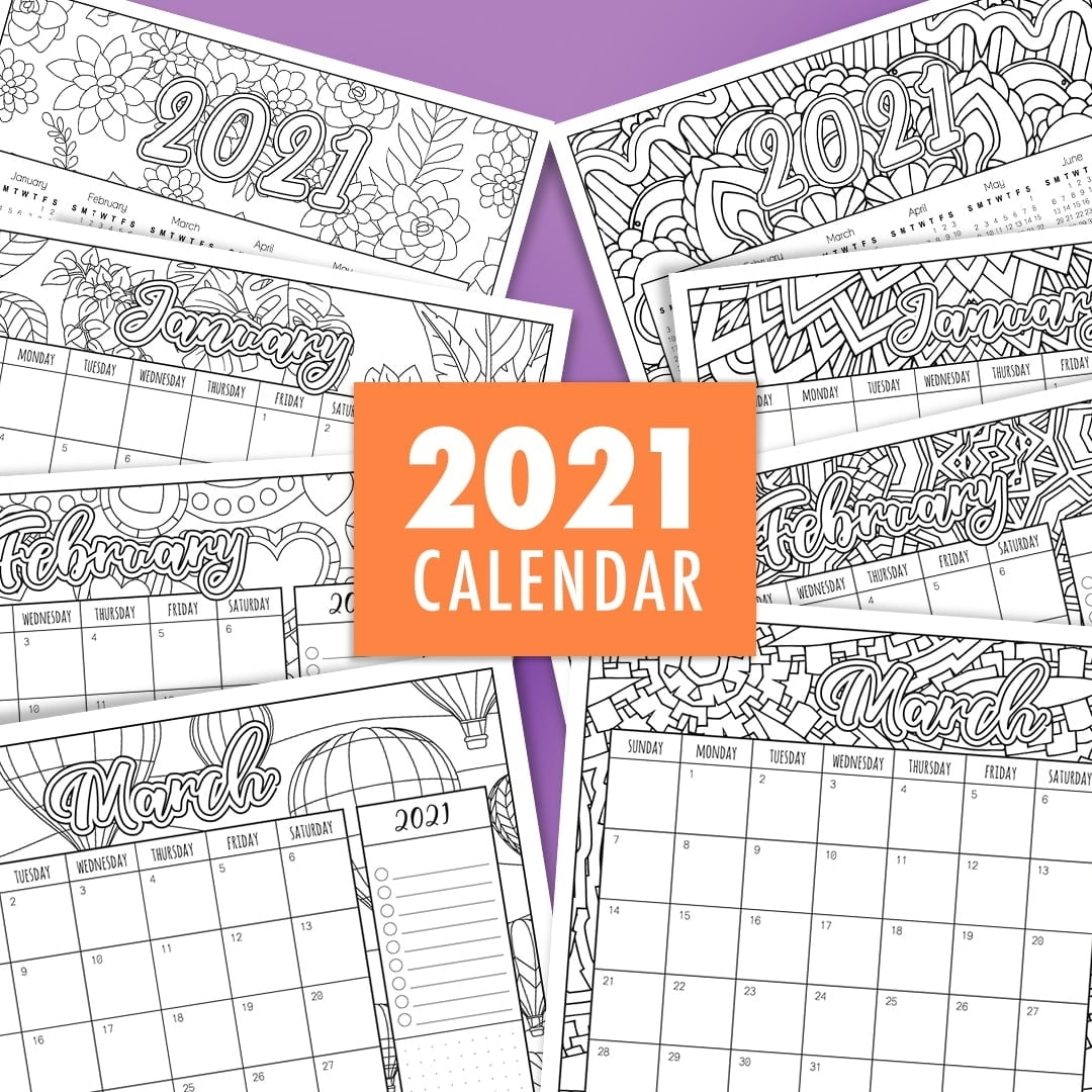 Catch October 2021 Calendar To Color And Print