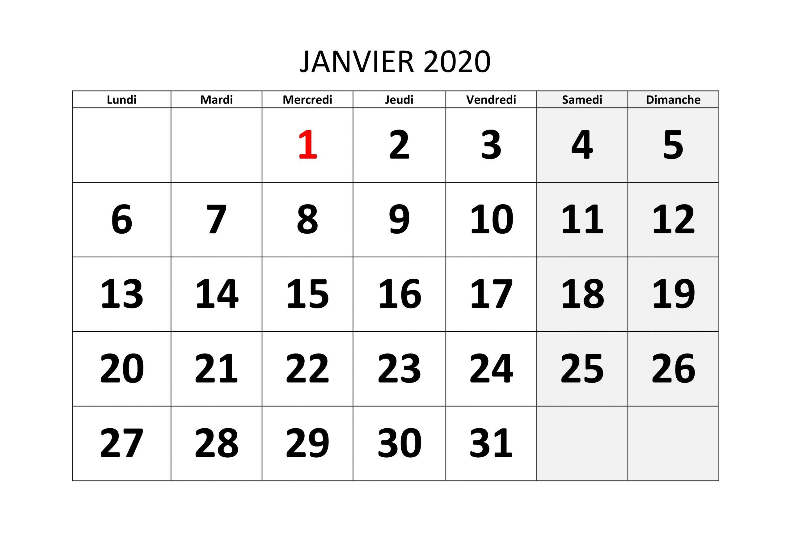 Catch Planning Mensuel Gratuit À Imprimer