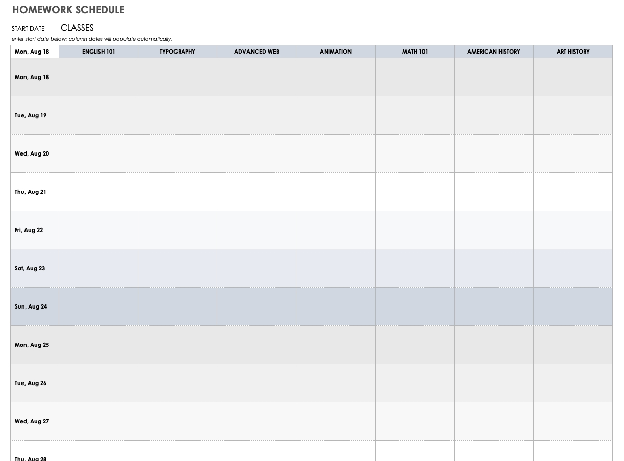 Catch Print A Schedule For Every 15 Minute Time Frames