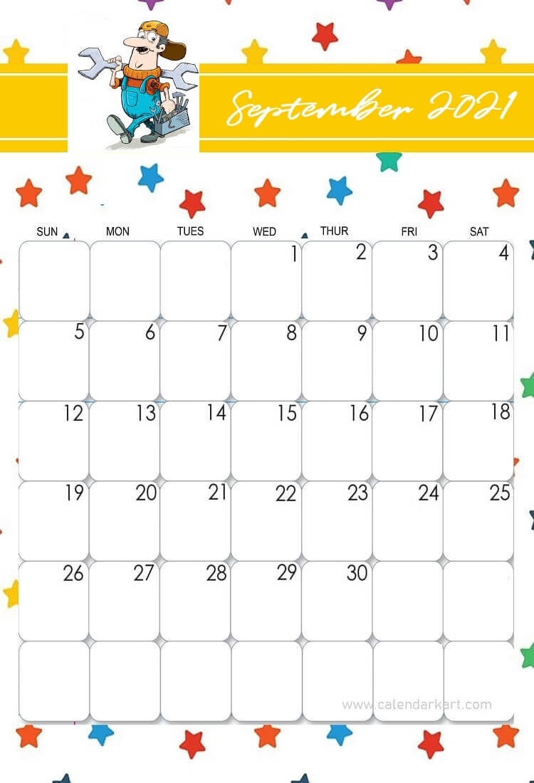Catch Printable Calendars Fourth Of July Theme