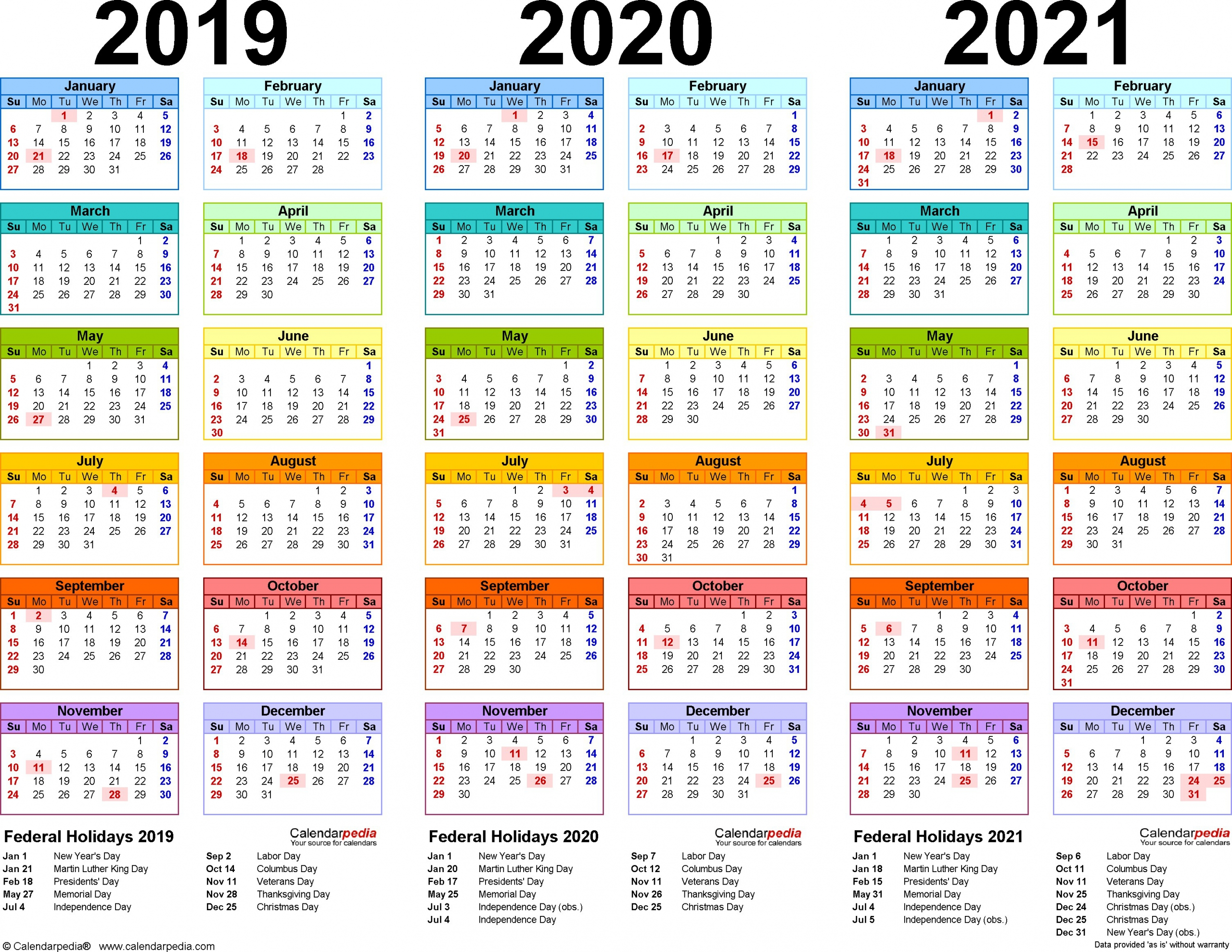 Catch Printable Yearly Calendars 2021 2022