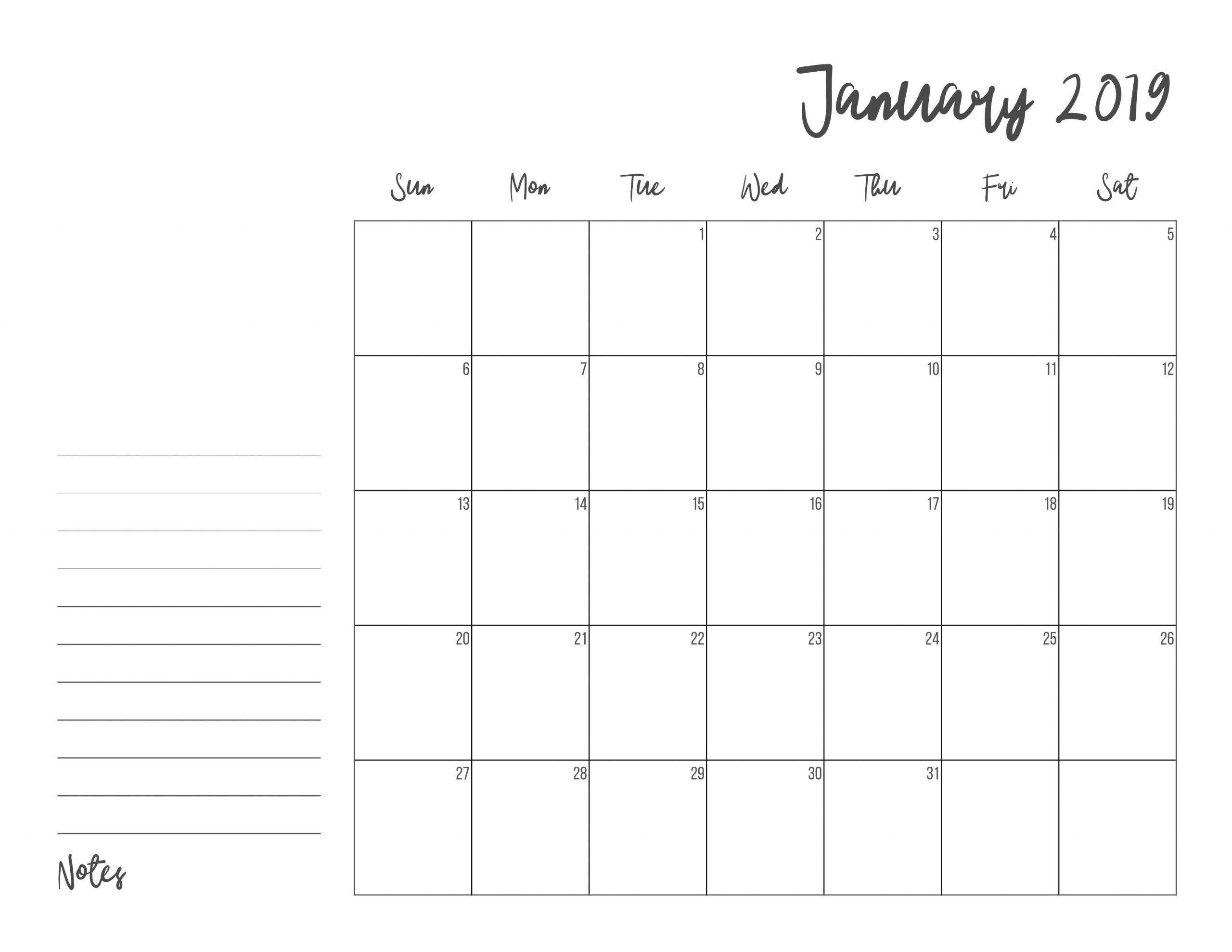 Catch Ree Printable Calendars That You Dont Have To Download