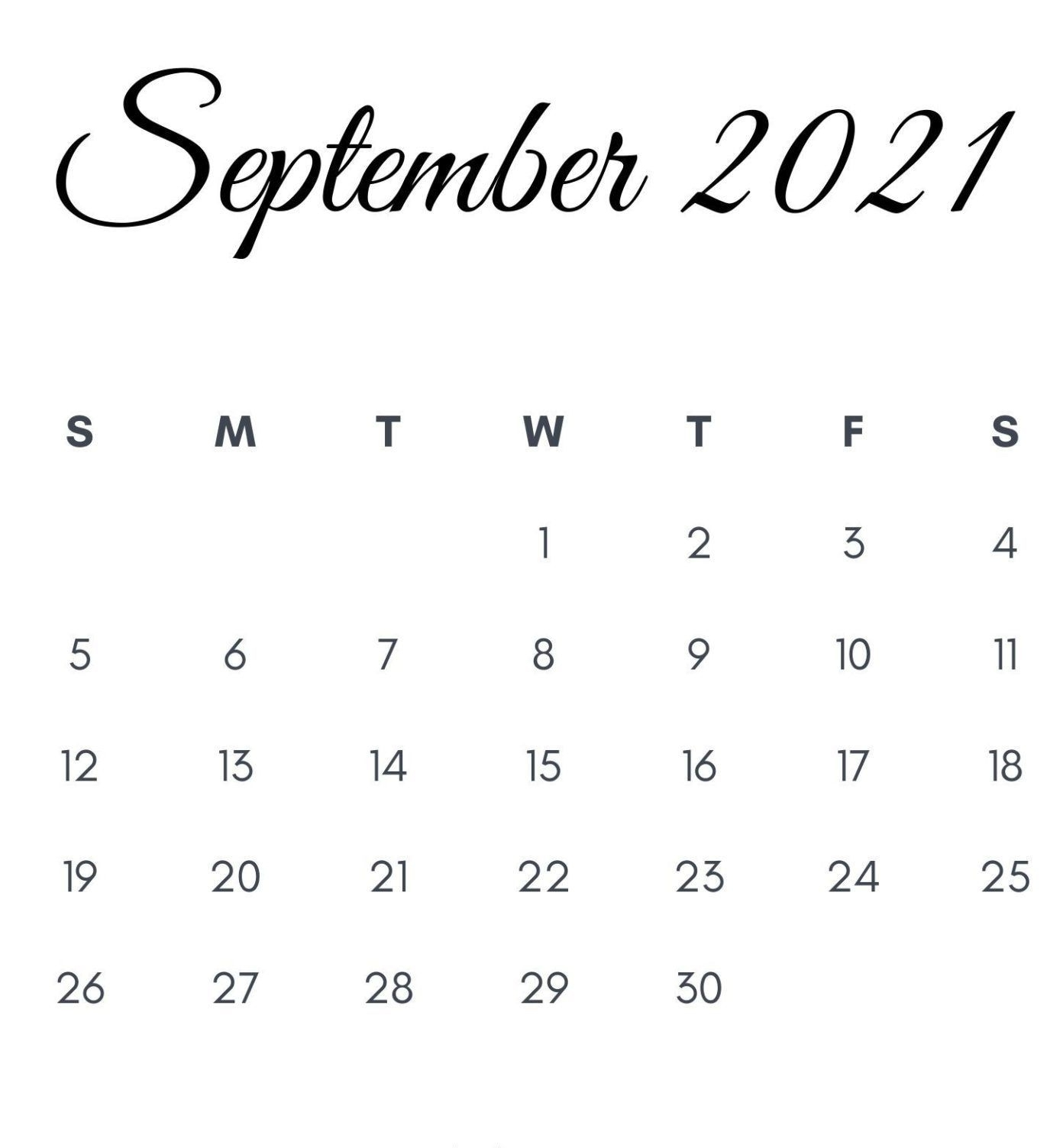 Catch September 2021 Overlap August Calendar