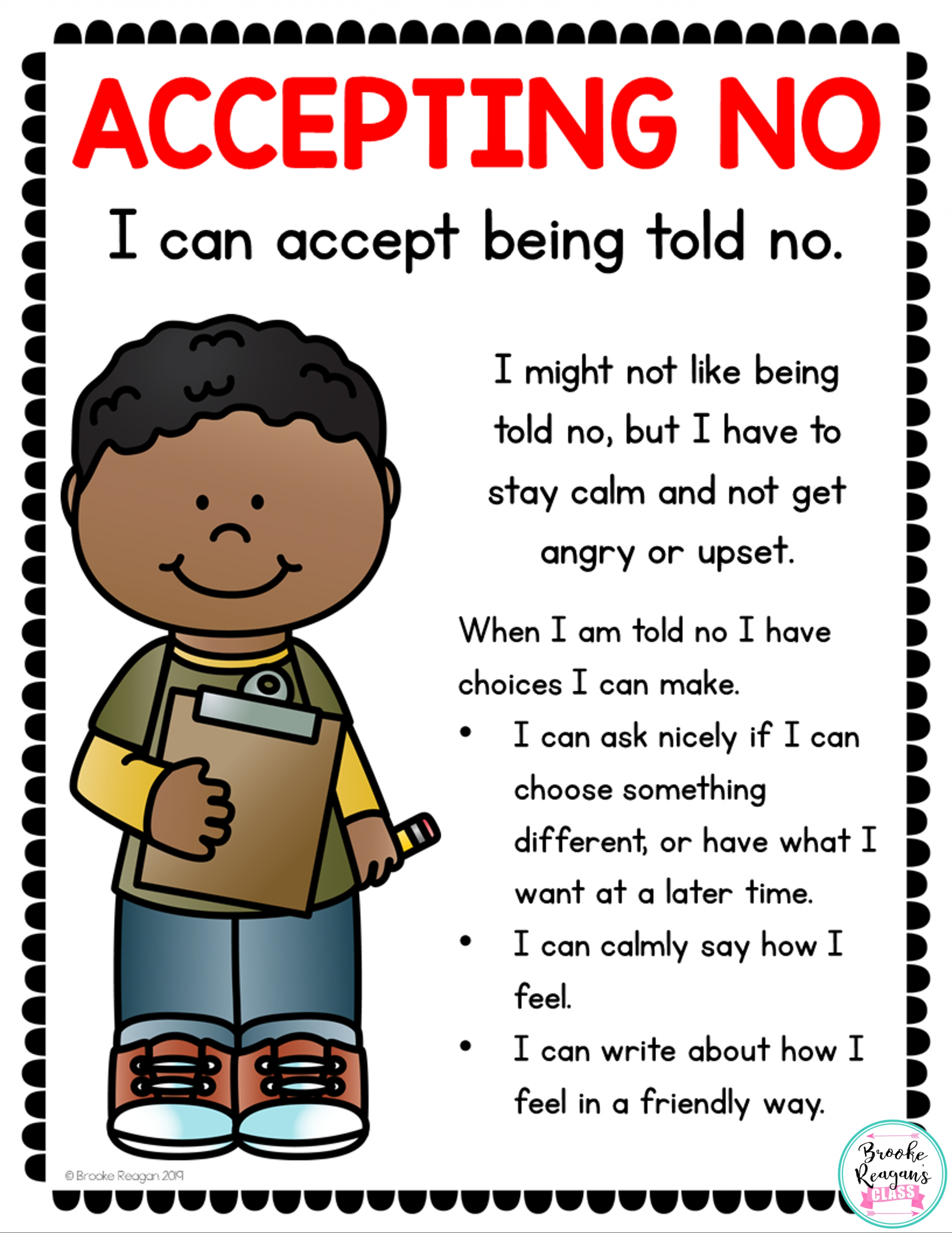 Catch Social Skills Worksheet Activity Pick Or Fill In Blank