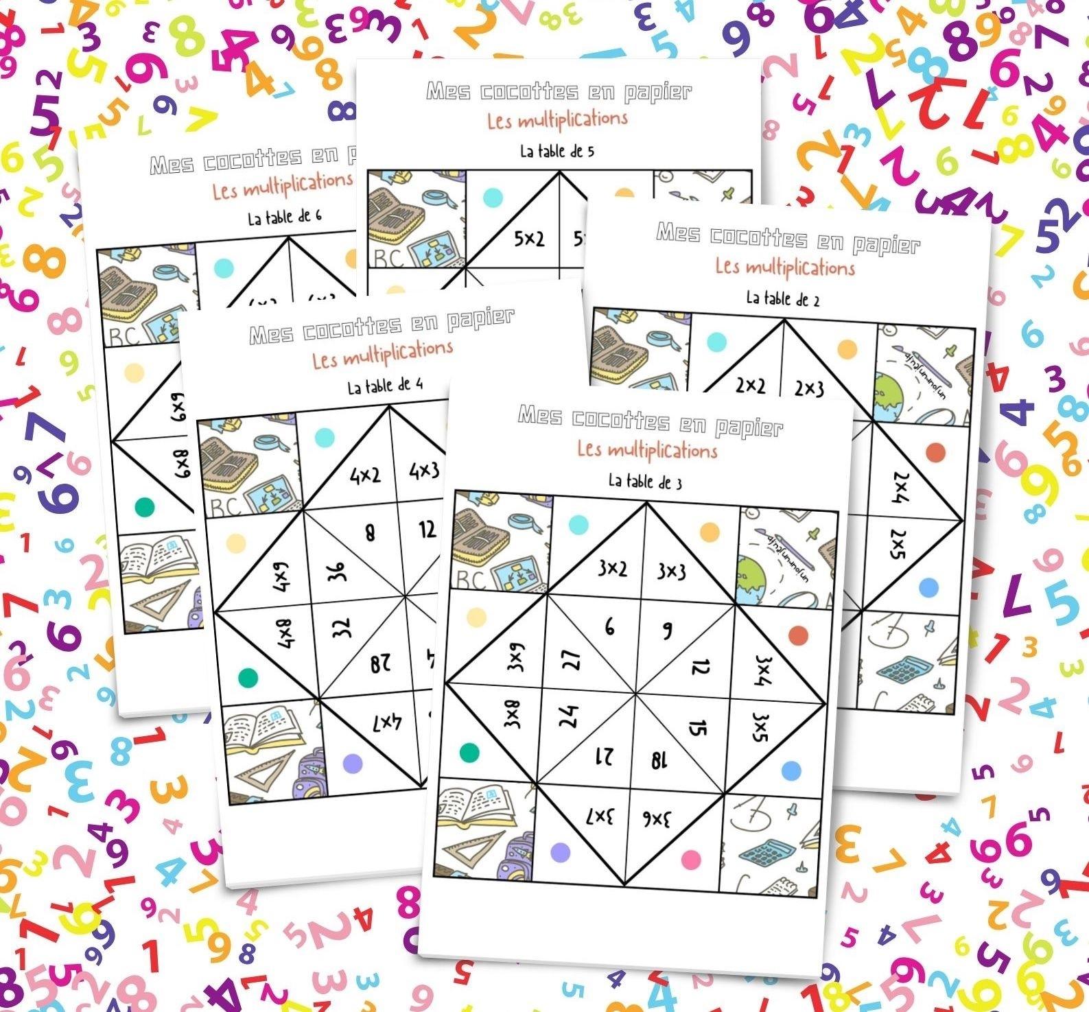 Catch Table Multiplication A Imprimer Gratuitement