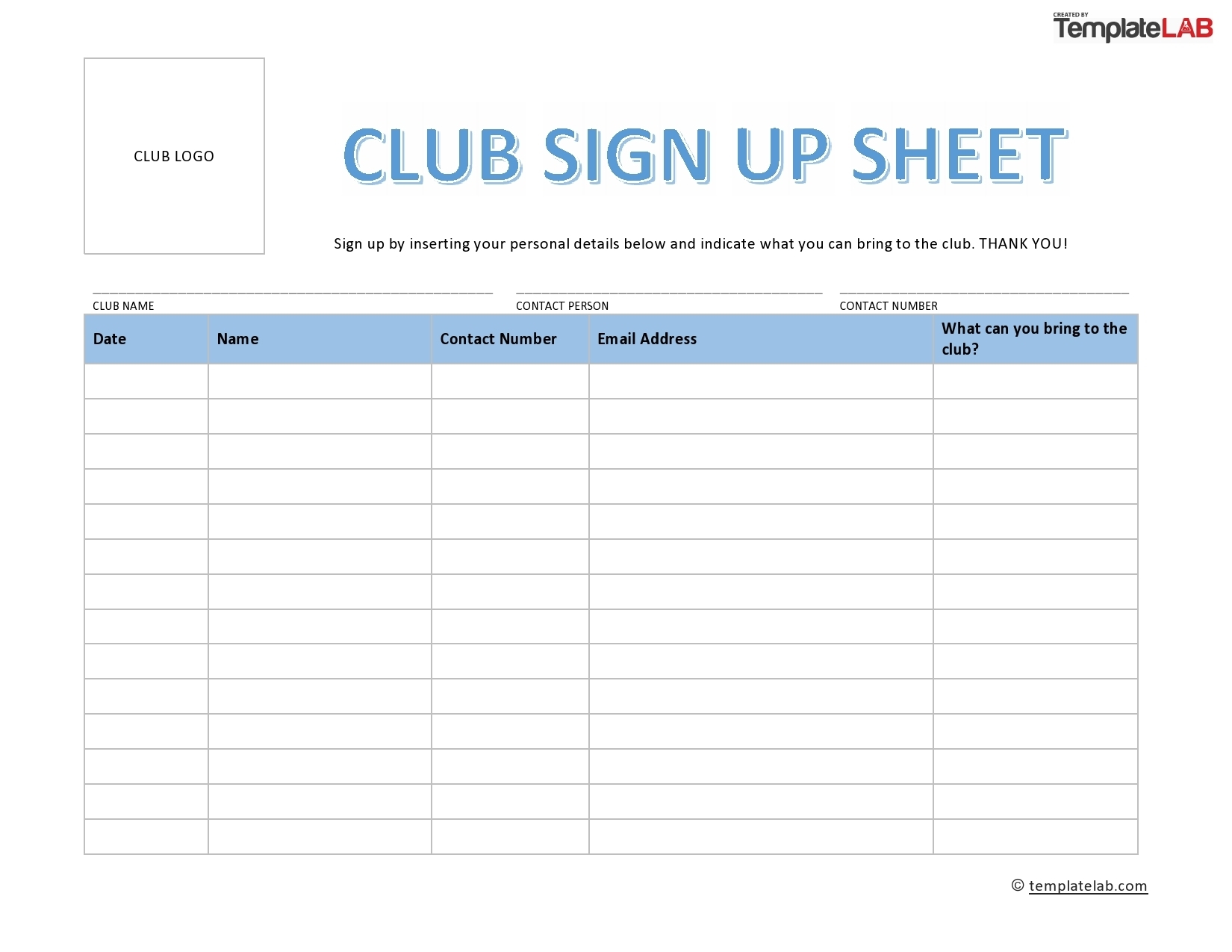 Catch Time Slot Sign Up Sheet Template Excel