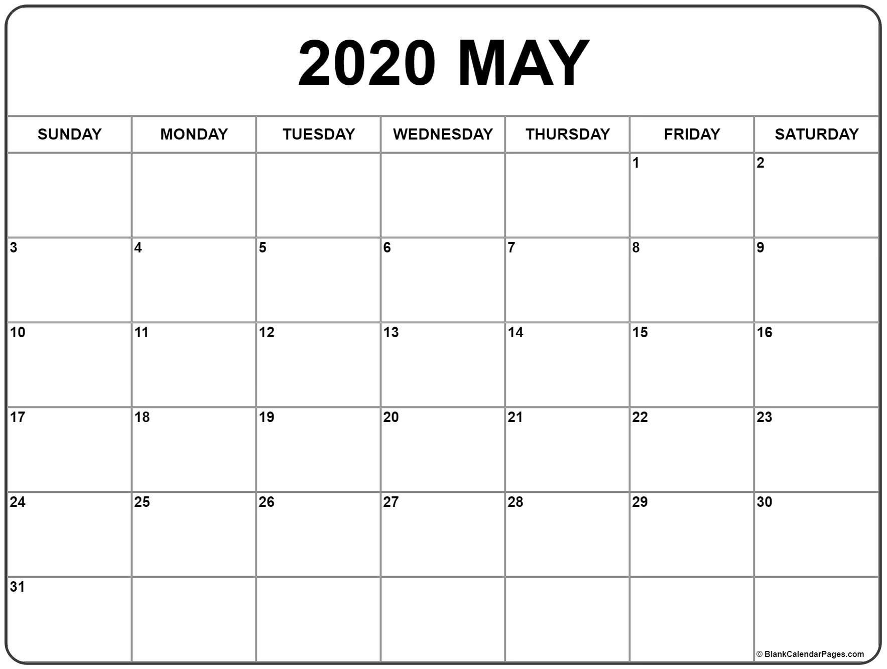 Catch Vertex Blank Monthly Calendar Starts Mondat