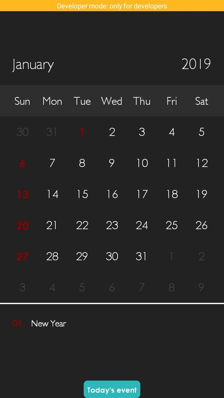 Catch Zimbabwe Calendar With Holidays