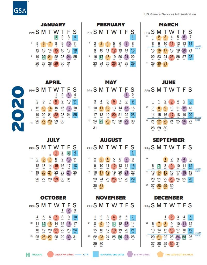 Collect 2021 Pay Period Federal Calendar