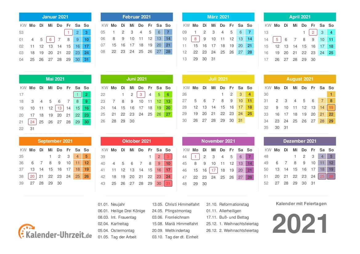 Collect 3 Monatskalender 2021 Zum Ausdrucken