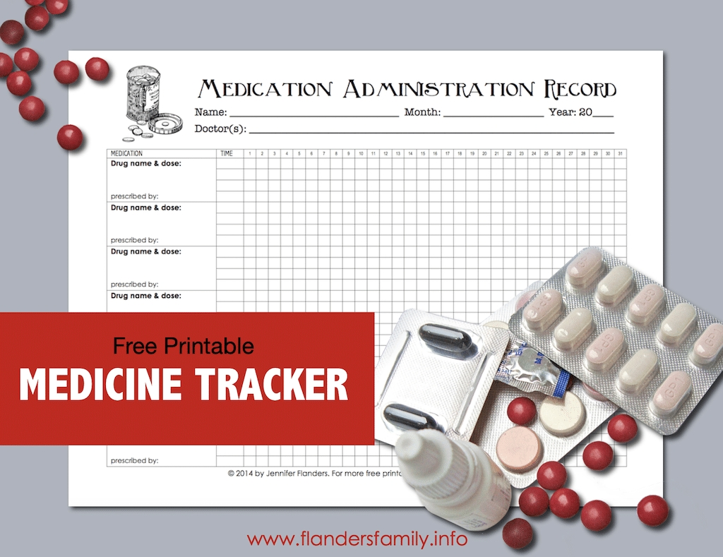 Collect 30 Day Med Administation Paper