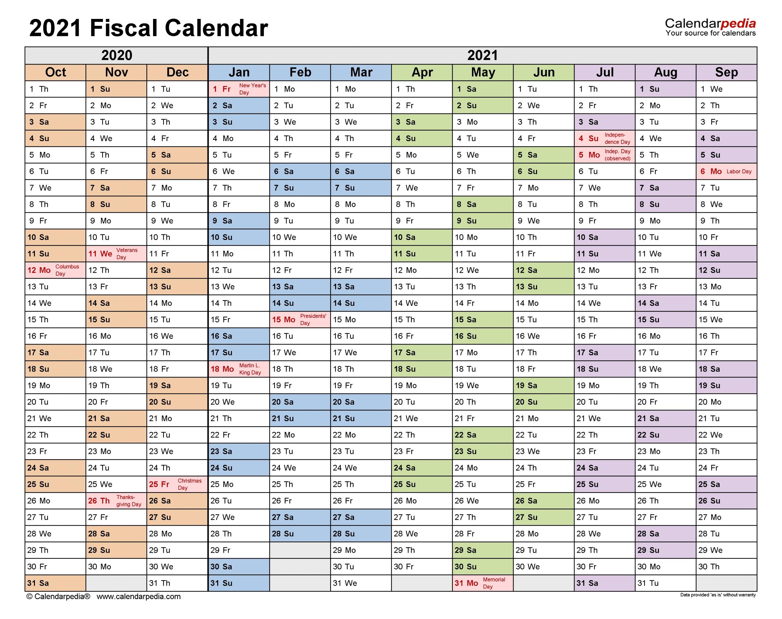 Collect 4 4 5 Calendar 2021
