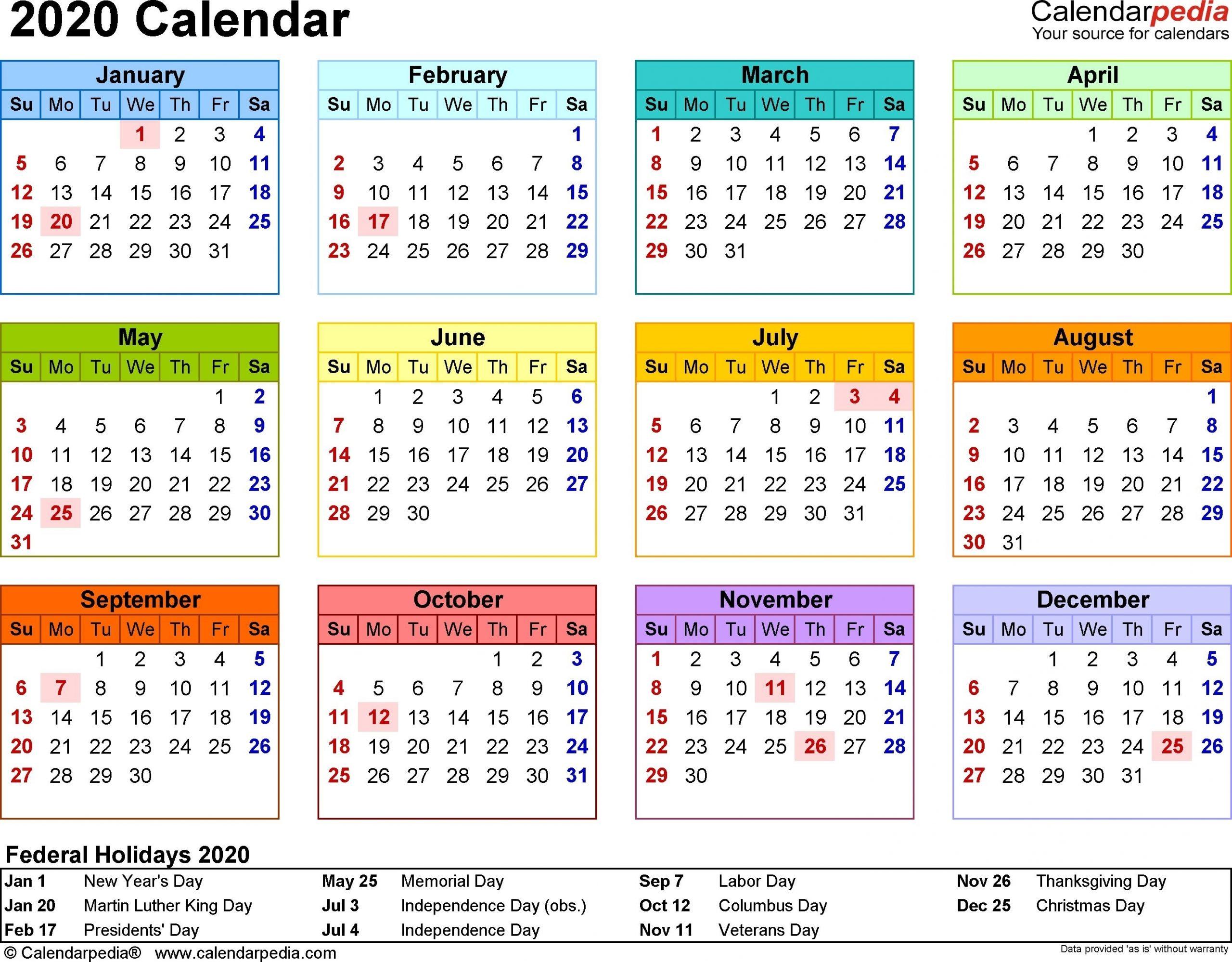 Collect 4 4 5 Calendars