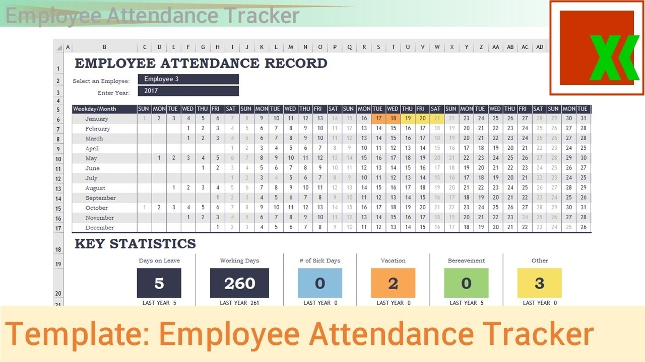 Collect Attendance Report Calendar Free