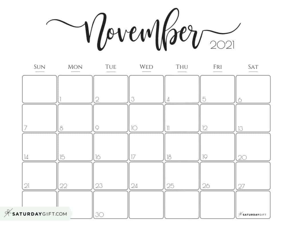 Collect August December 2021 Calendar