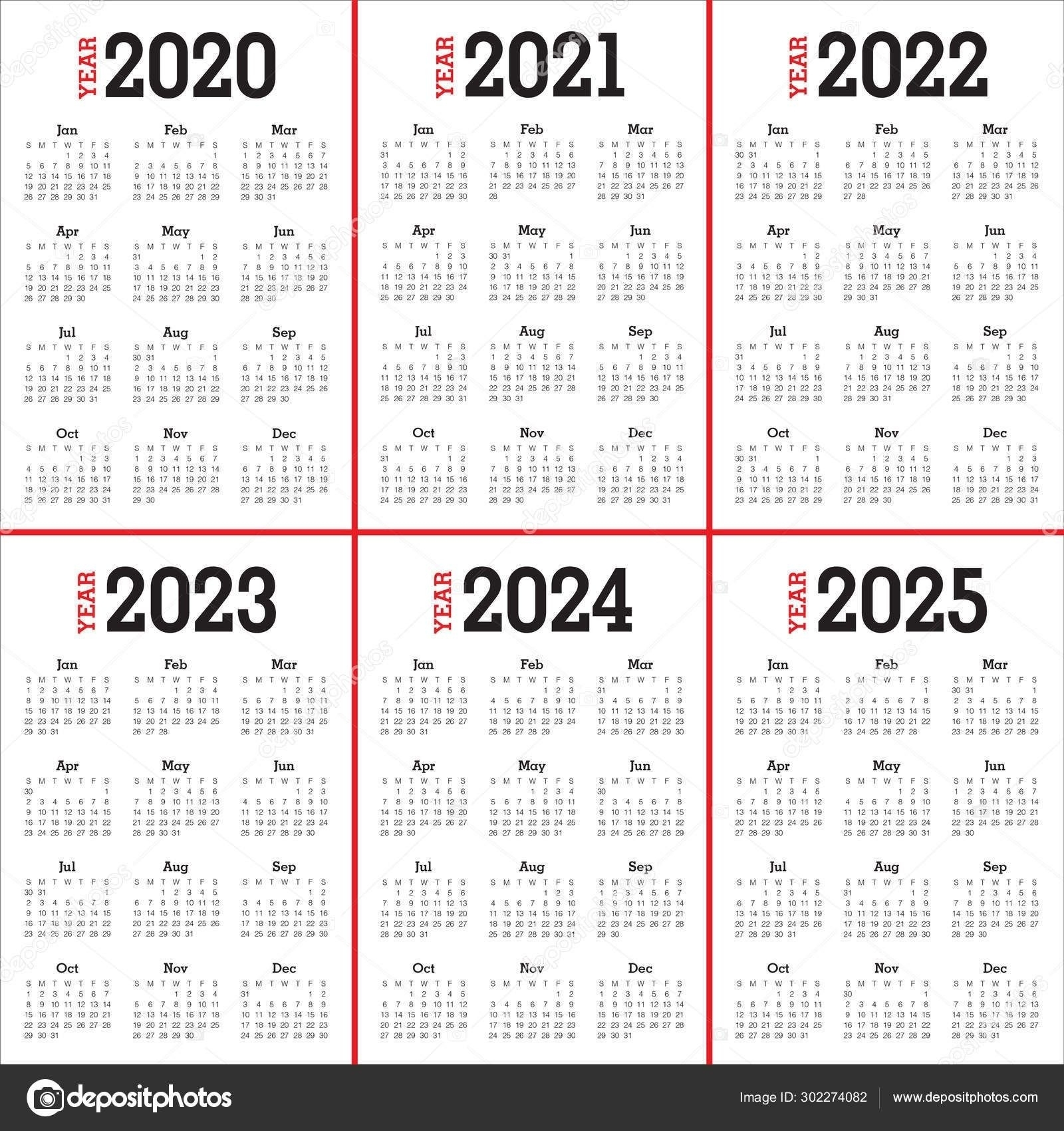Collect Calander 2021 Thru 2023