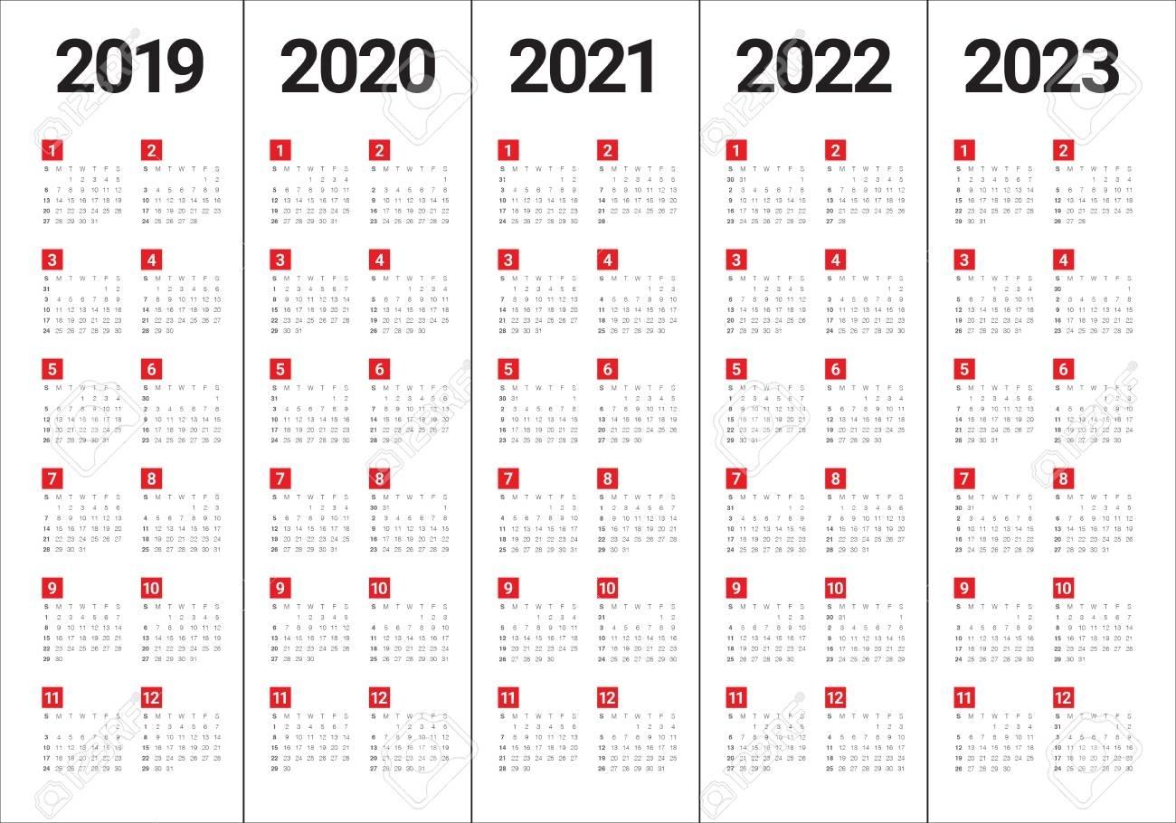 Collect Calendar For 2021 2022 2023