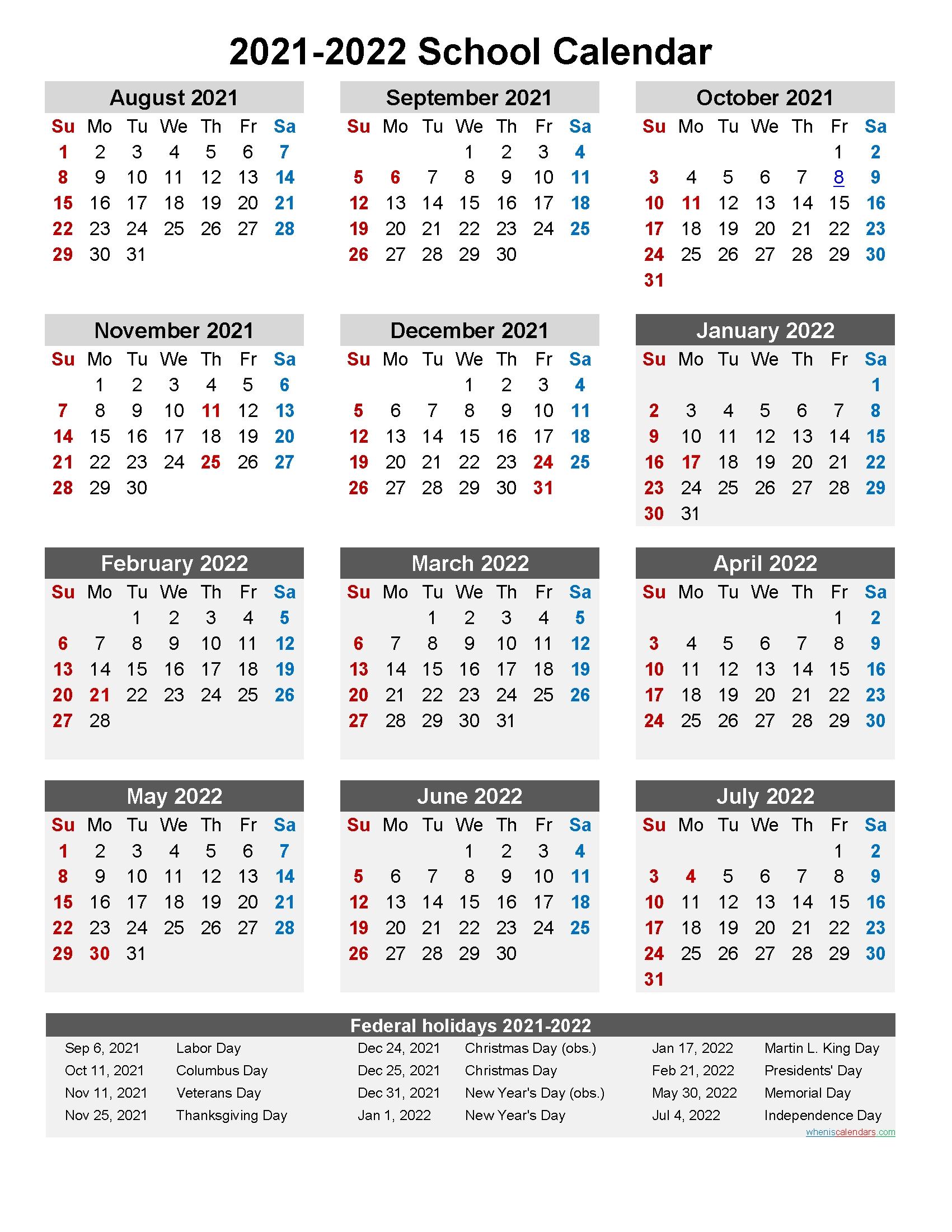 Collect Calendar Of April 2021 School