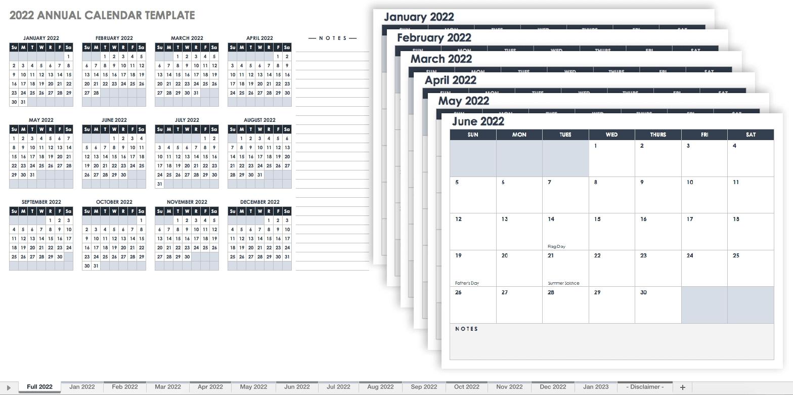 Collect Calendar Template Free