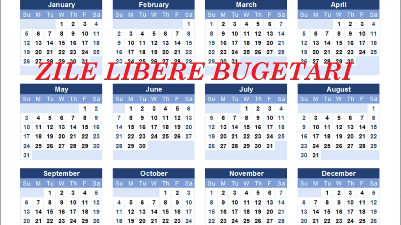 Collect Calendar Zile Lucratoare 2021