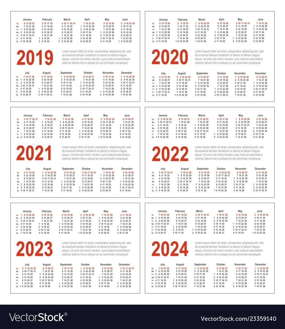 Collect Calendars For The Years 2021 2021 & 2022