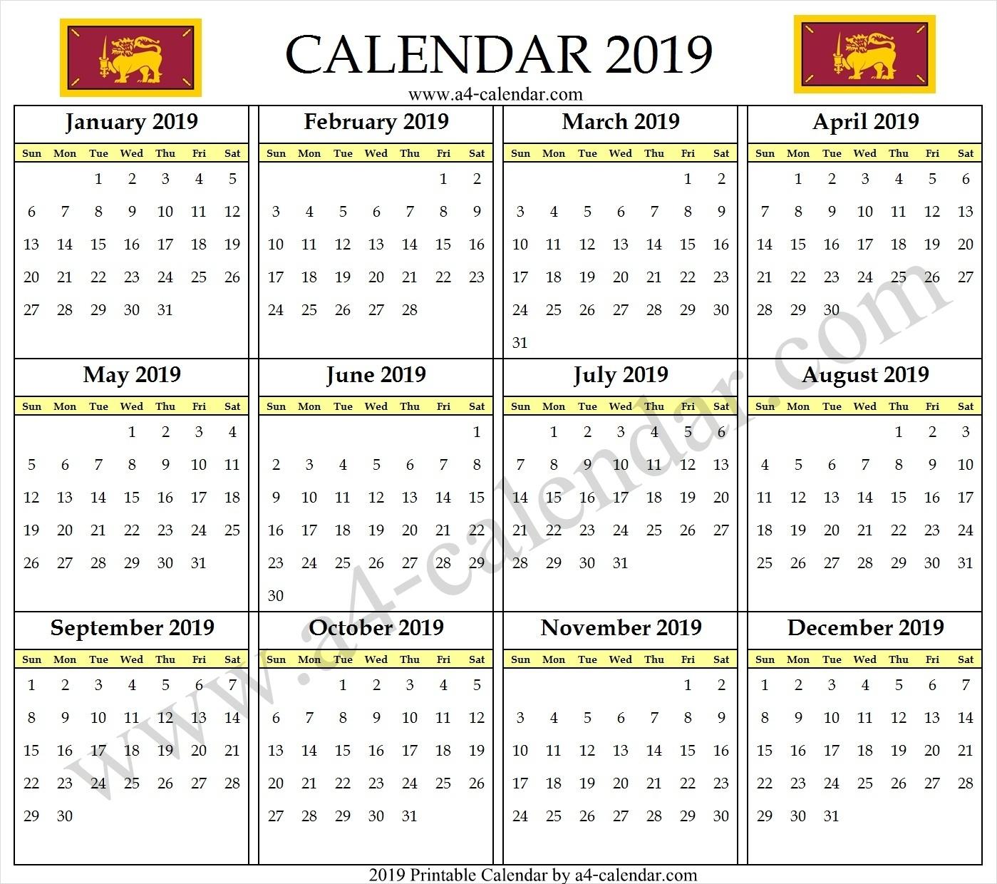 Collect Calendars Print Sri Lanka