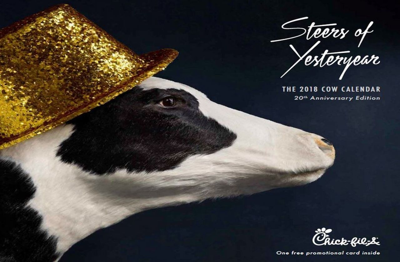 Collect Chick Fil A Calendars