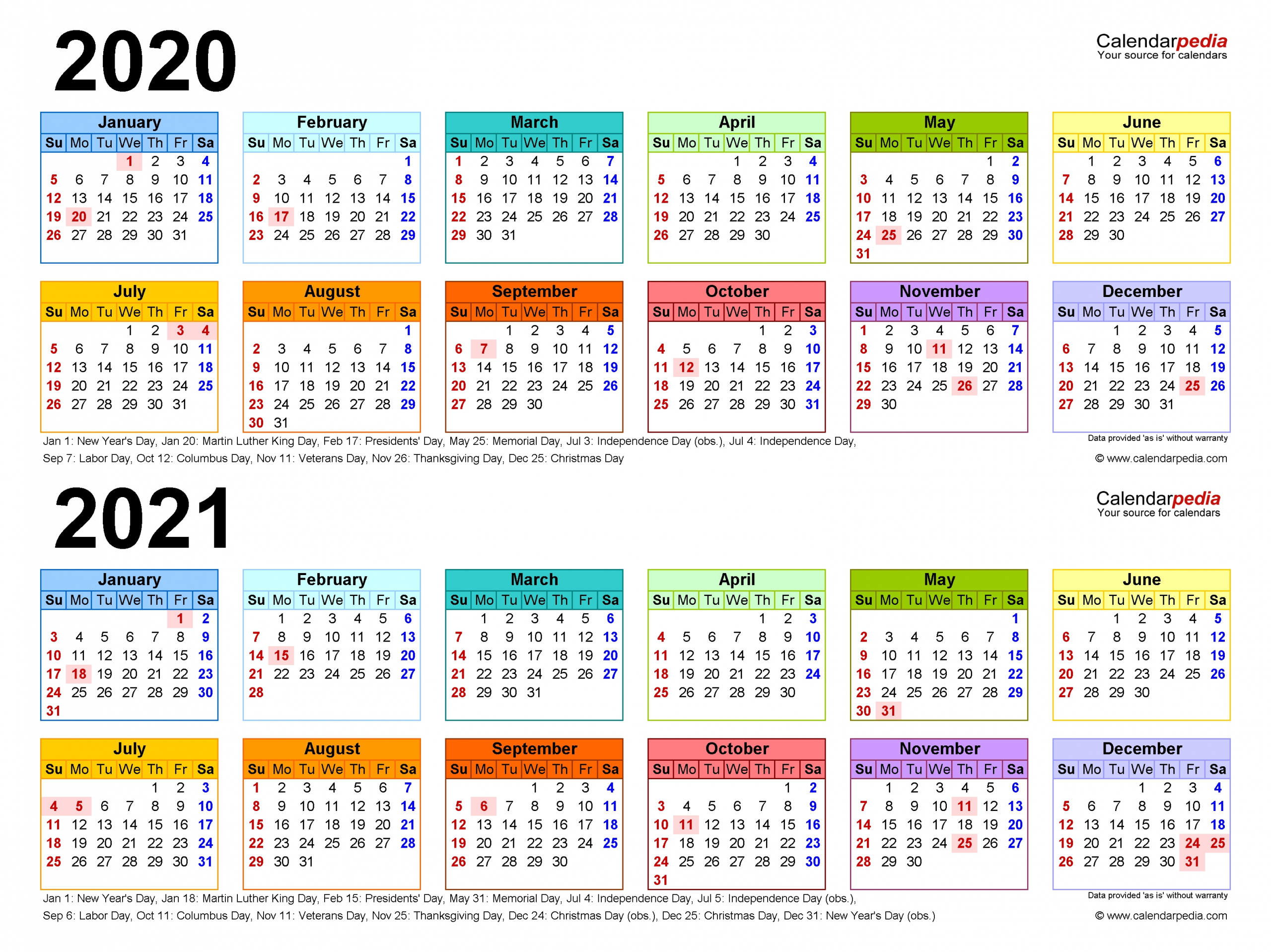 Collect قوالب كلندر 2021 شهرية 9 10 11 12