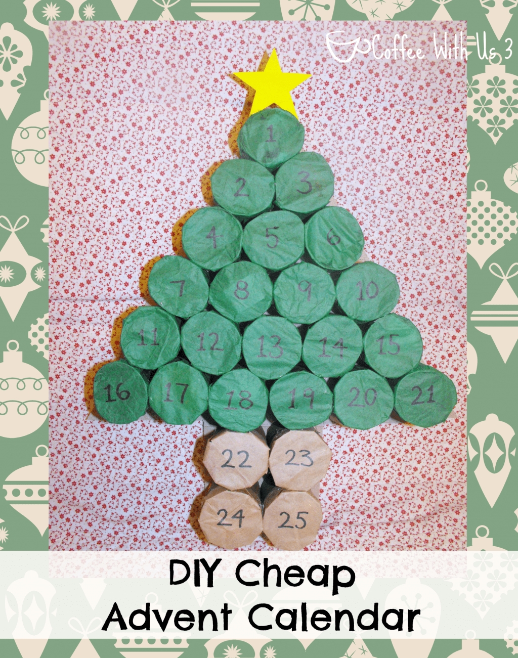 Collect Diy Advent Calendars Verses And Figures
