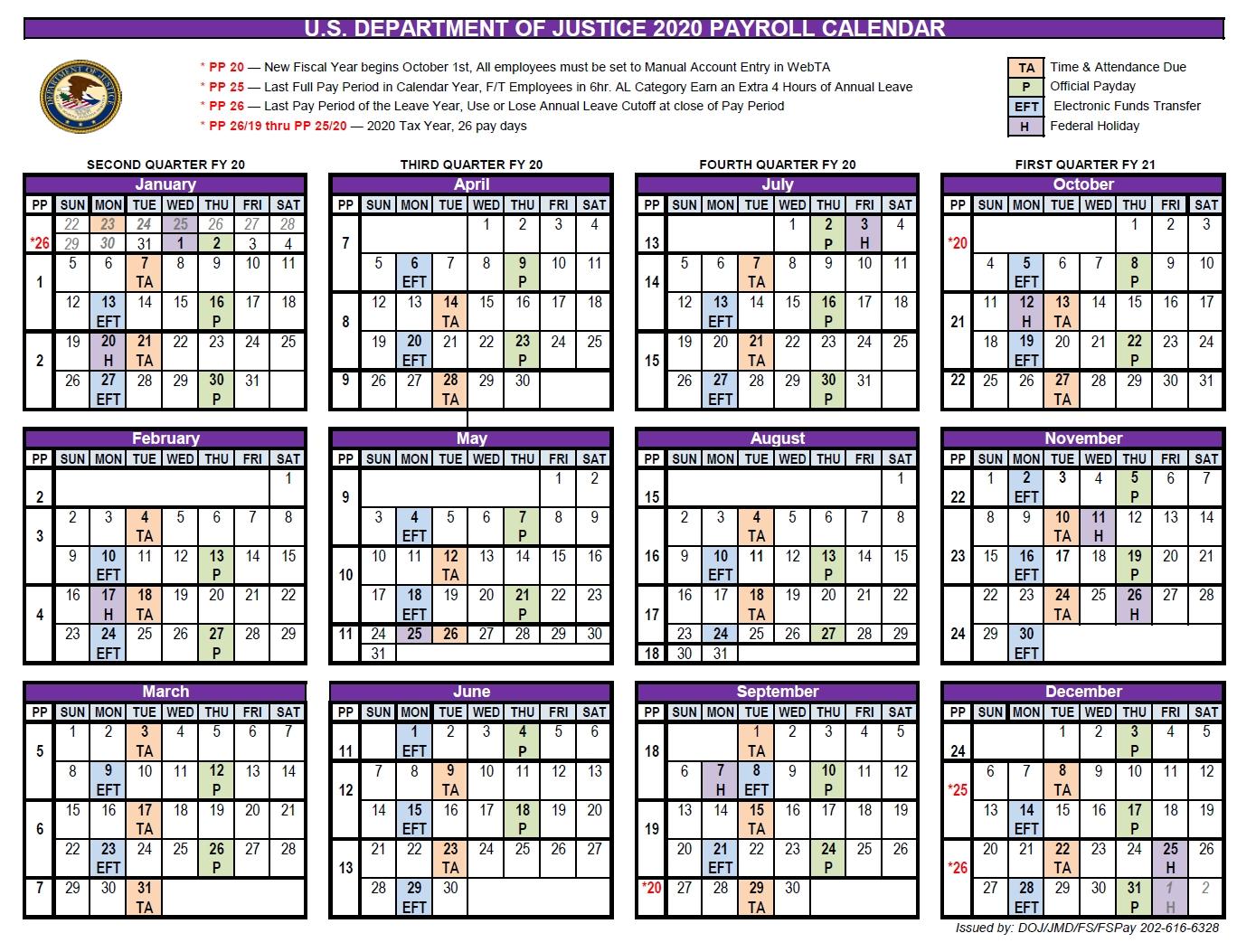 Collect Federal Pay Period Calendar 2021