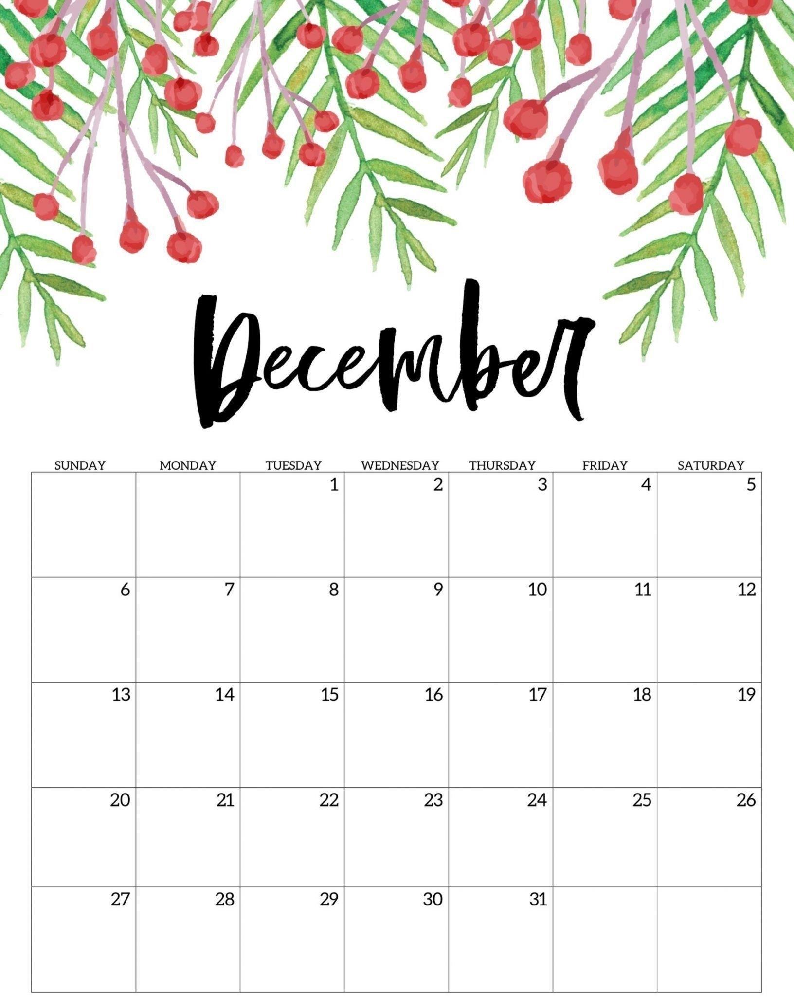 Collect Festive Printable Calendars