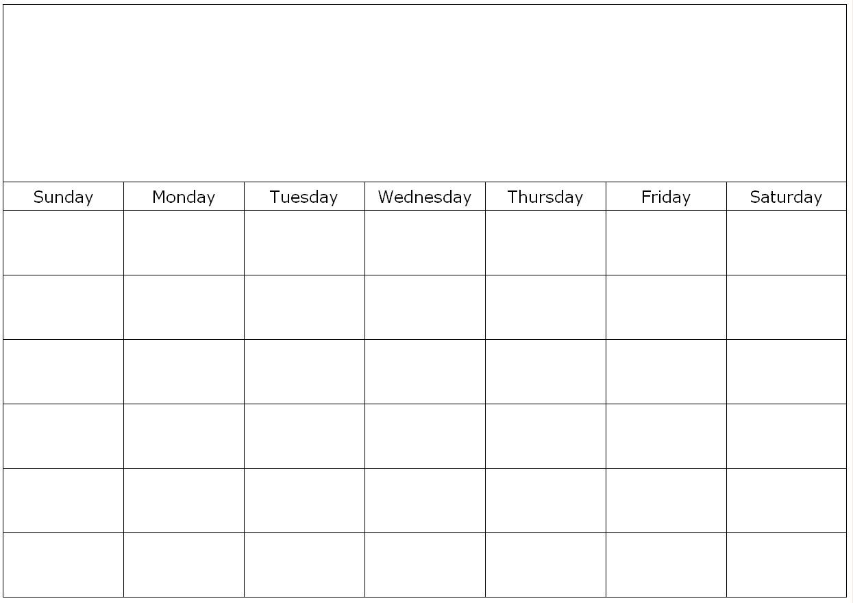 Collect Fill In Calendar