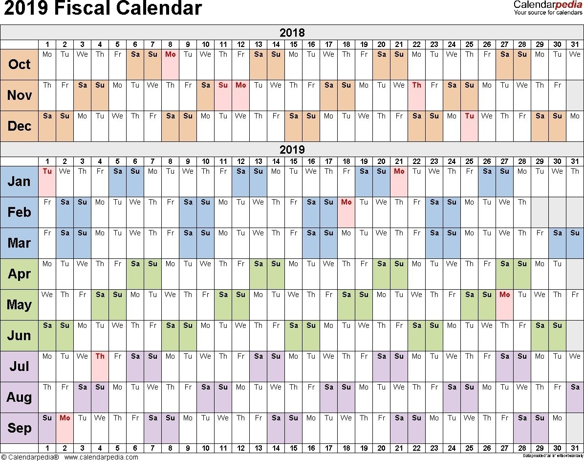 Collect Finacial Working Week Numbers From Aprol