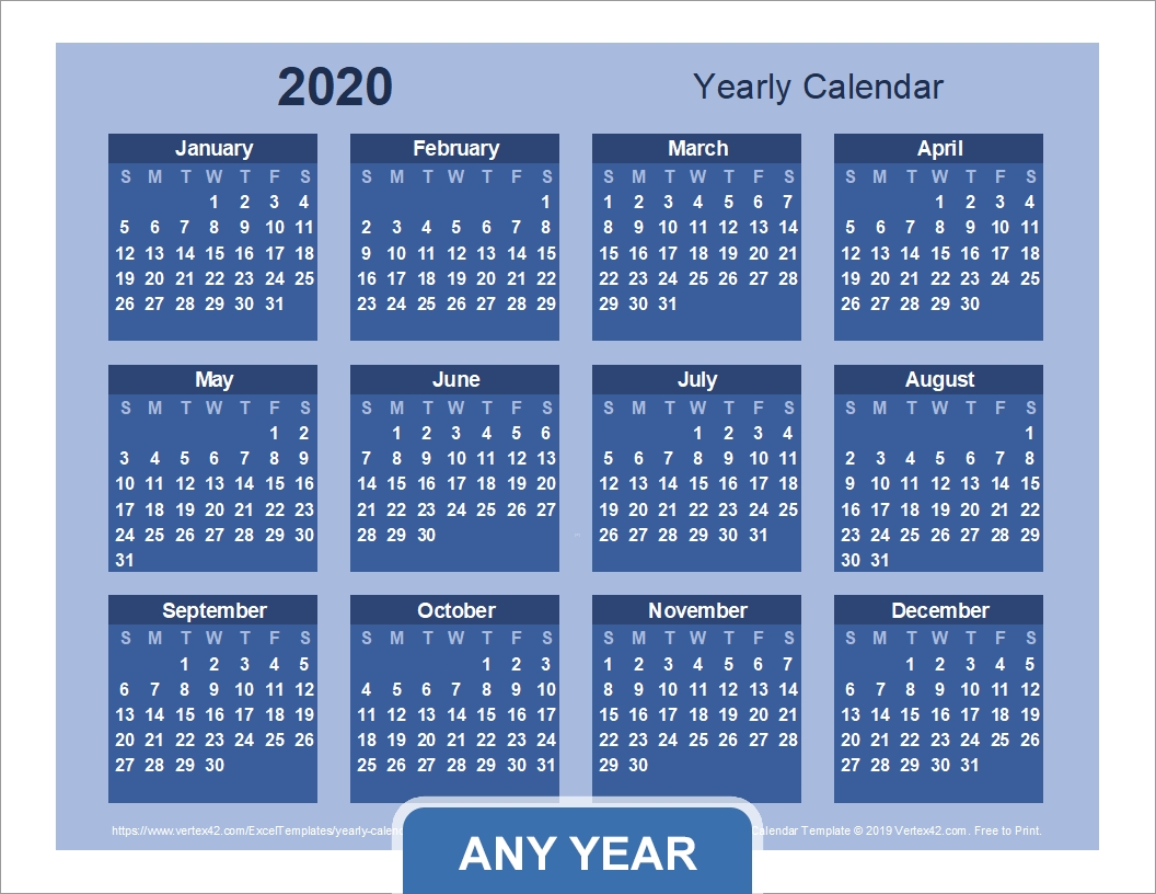 Collect Finacial Year Planner With Numbered Weeks
