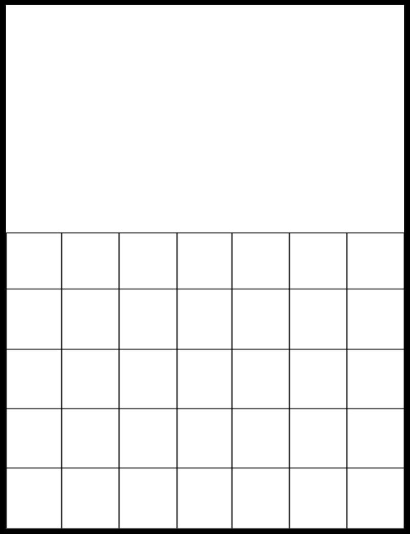 Collect Free Printable Large Grid Calendar