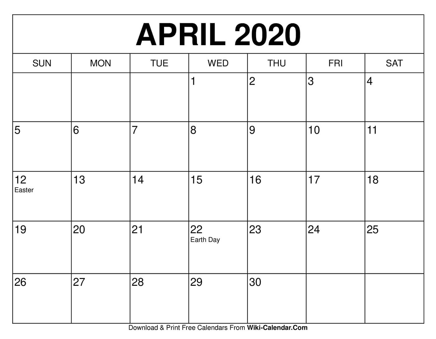 Collect Free Printable Monthly Calendar No Download