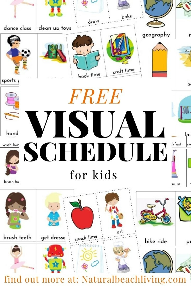 Collect Free Printable Picture Schedules For Children