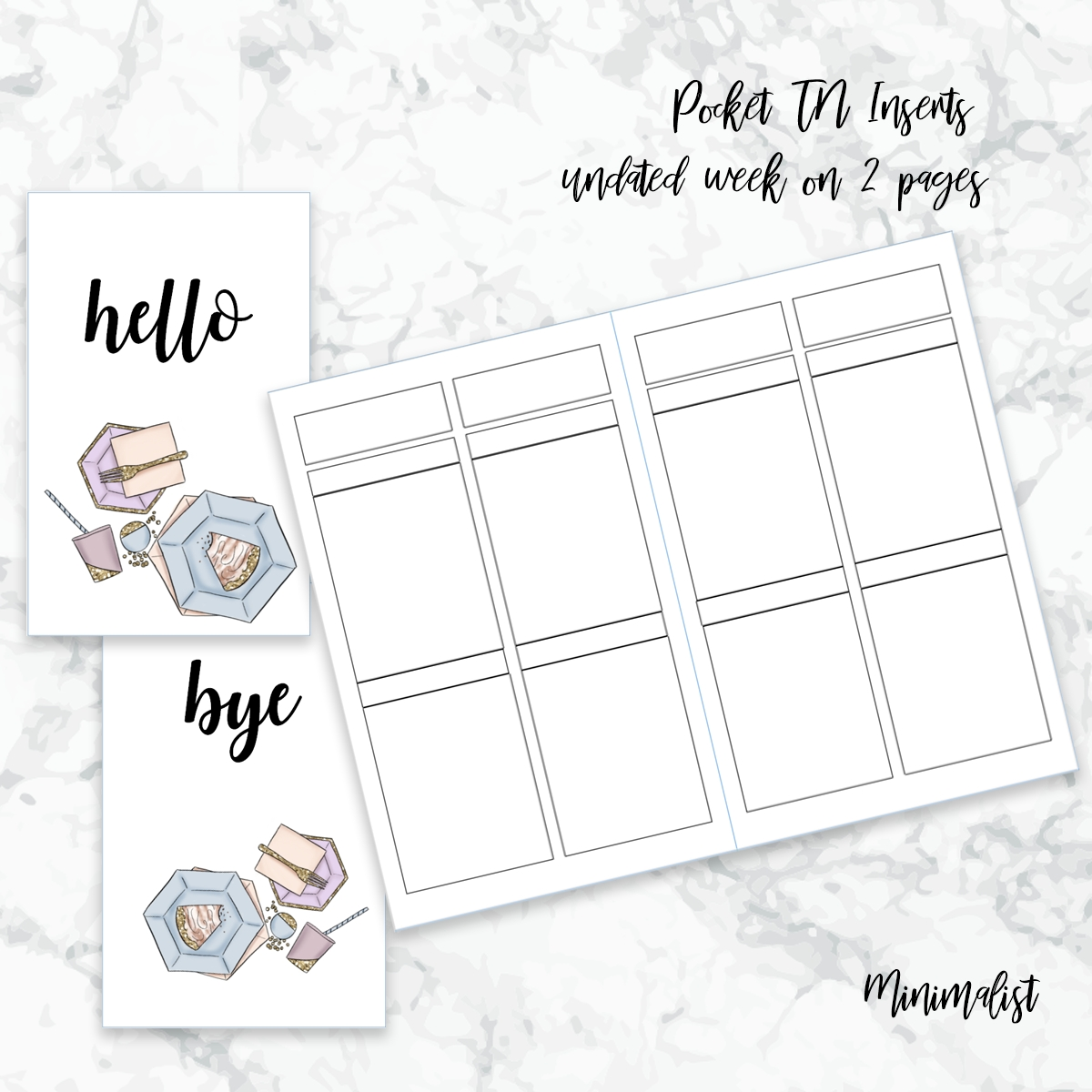 Collect Free Printable Pocket Planner