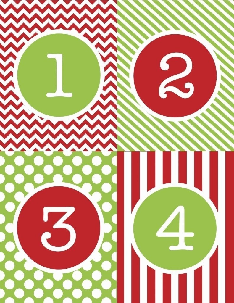 Collect Free Printable Thanksgiving Calendar Numbers 1 31