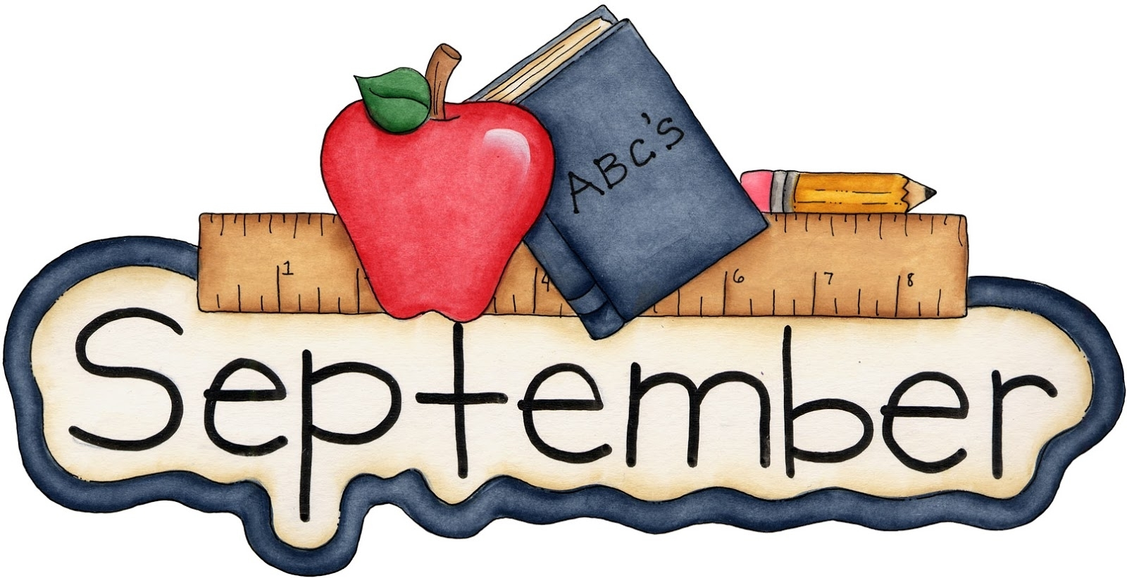 Collect Free September Clip Art Themes