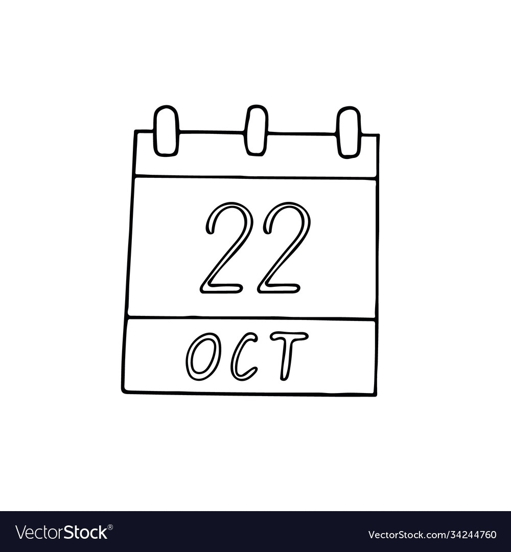 Collect Full Day Planner Calendar For October 22