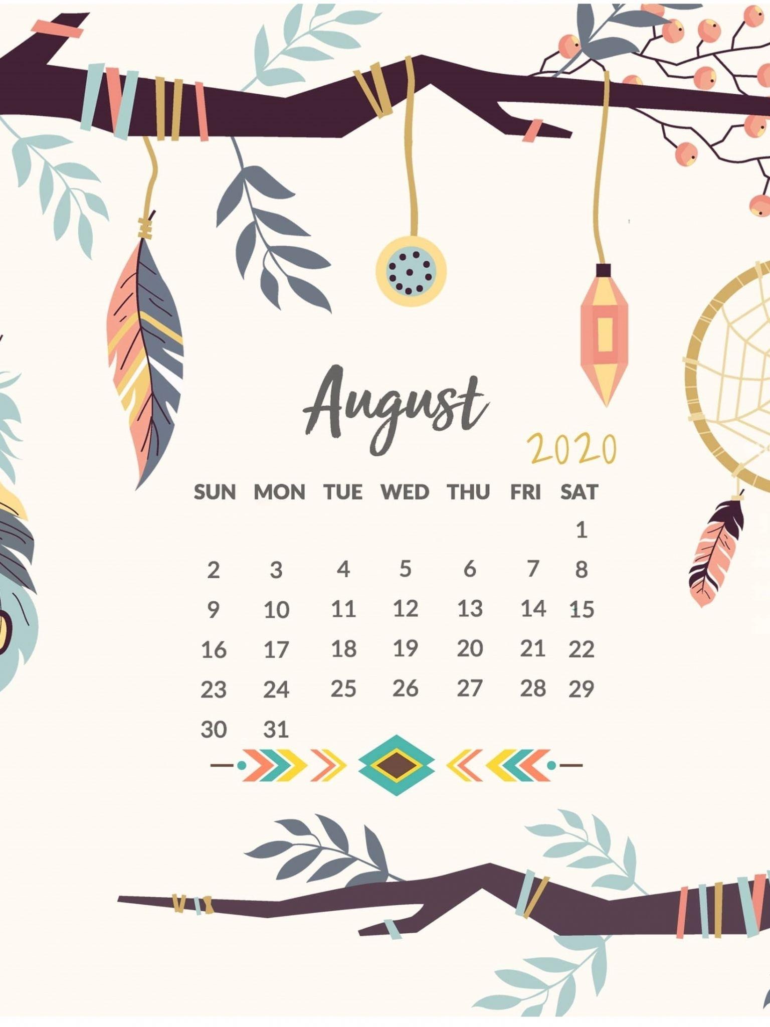 Collect Funny August 2021 Desktop Calendar