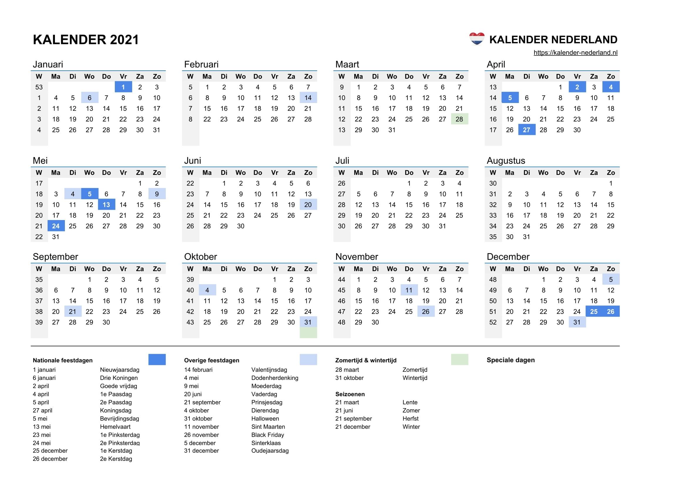 Collect Kalender Augustus 2021