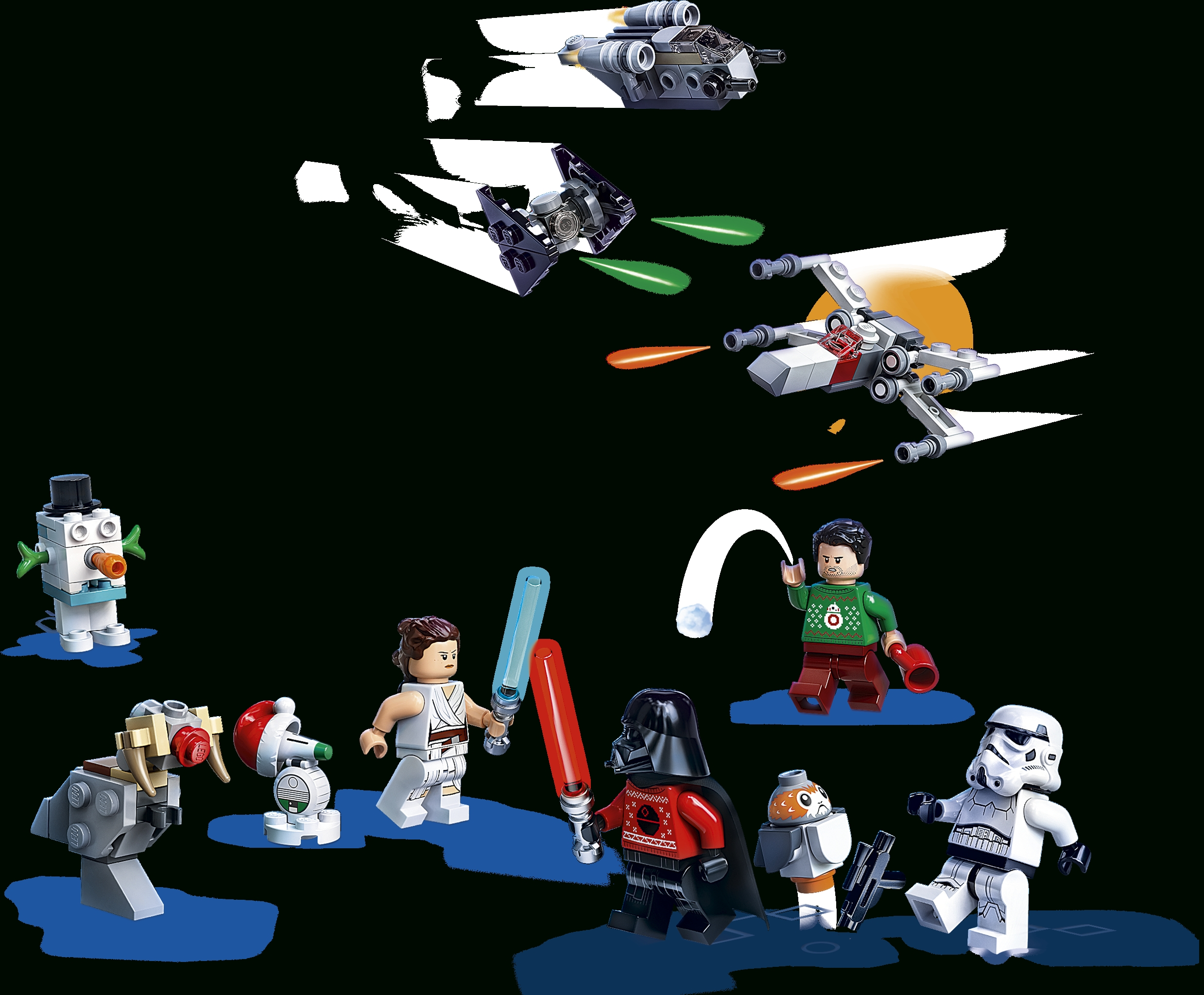 Collect Lego Star Wars Advent Calendar 2021 Instructions