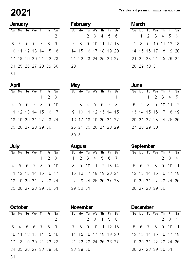 Collect Looking For Free Pocket Sized Yearly Calendars