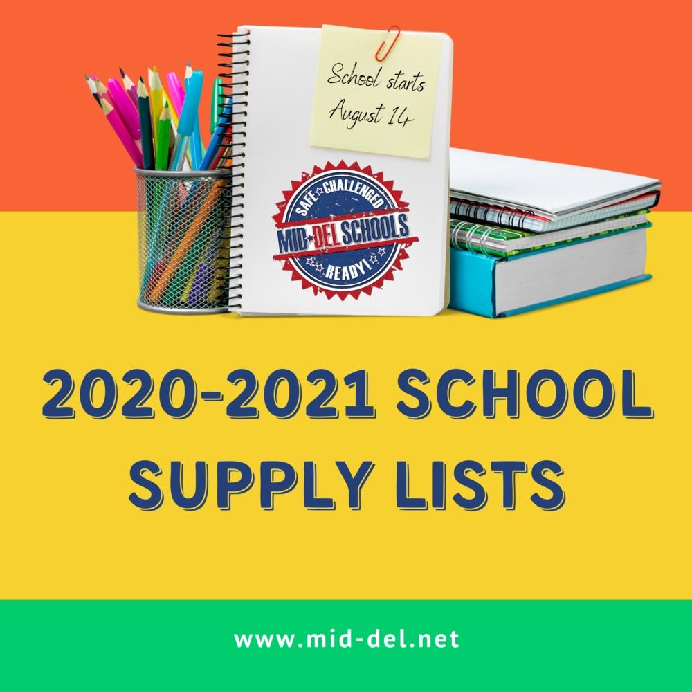 Collect Mid Del Pulic Schools Fall 2021 Calendar