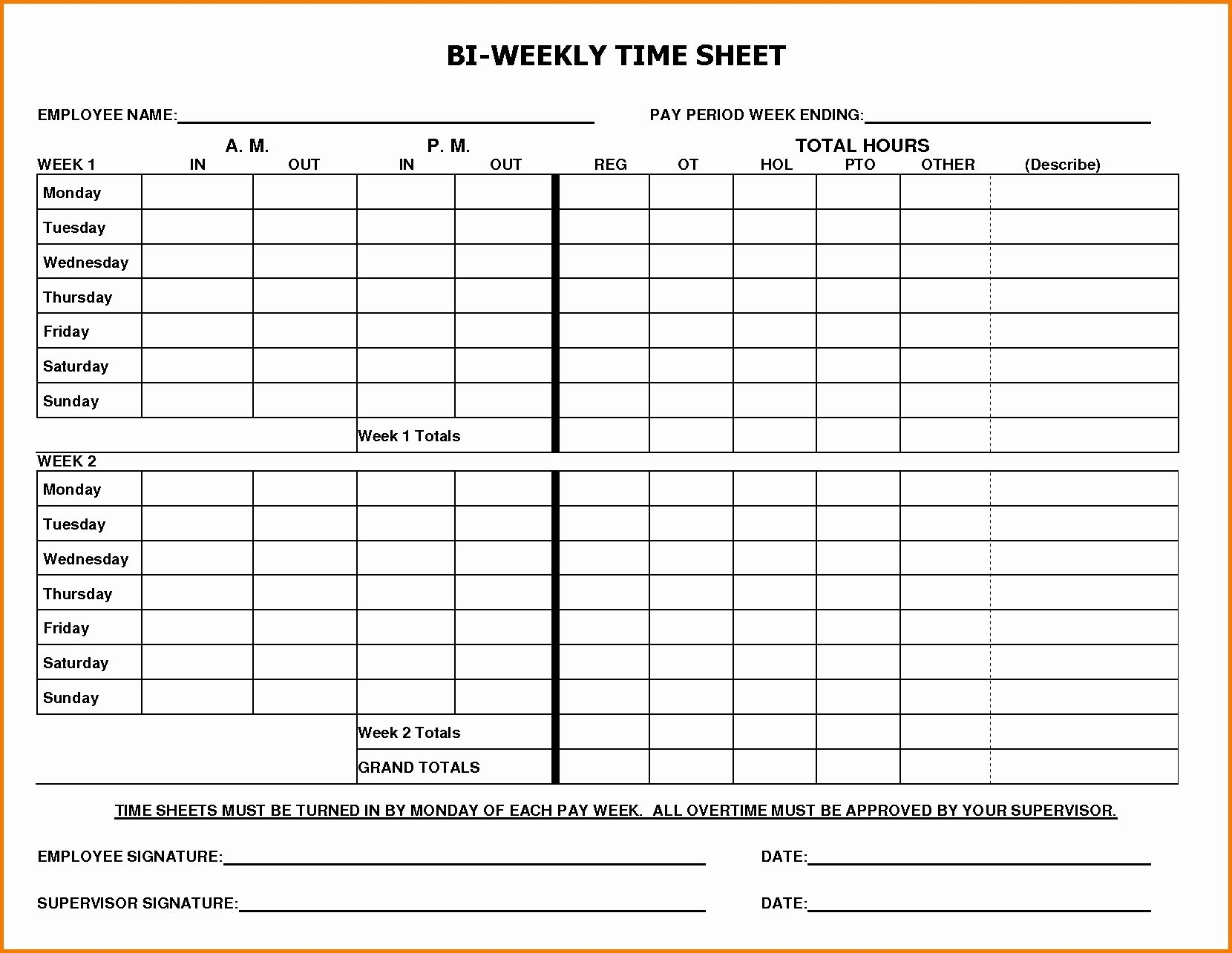 Collect Need A Pdf Of A Bi Weekly Work Schedule
