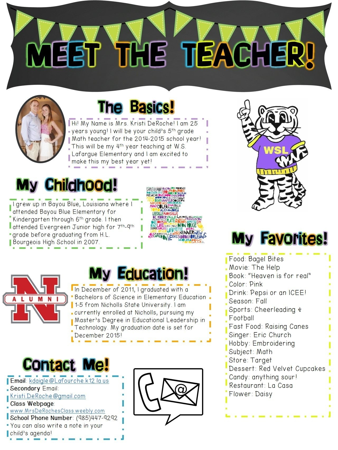 Collect Newsletter For Class 1St